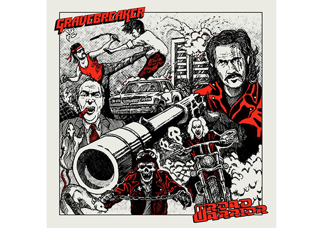 ROAD WARRIOR (Sweden) / GRAVEBREAKER (Australia): Split EP on Gates Of Hell Records