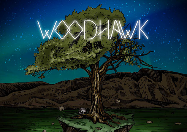 "Riff Wizards WOODHAWK Premiere Music Video ""Heartstopper"" via MetalInjection"