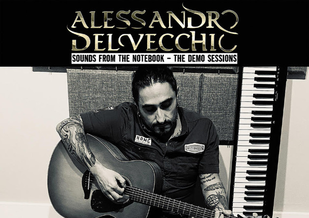 "Alessandro Del Vecchio has released ""Sounds From The Notebook – The Demo Sessions"" – Listen to ""Back On My Trail"" – Radio Single"