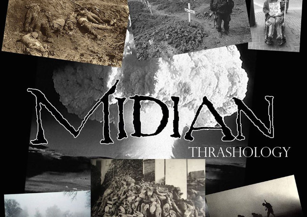 "80's CULT THRASH BAND MIDIAN RELEASES  DEMO COLLECTION ""THRASHOLOGY"" DIGITALLY"