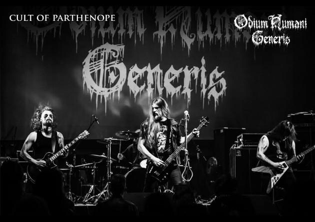 ODIUM HUMANI GENERIS : firmano con Cult Of Parthenope, nuovo album in uscita ad Ottobre 2020