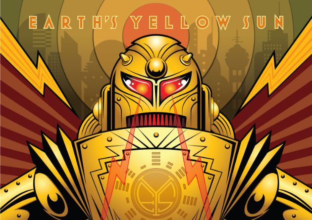 "Earth's Yellow Sun Animated Video ""Part IV – Bastion"" For 5th Anniversary of ""The Infernal Machine"""