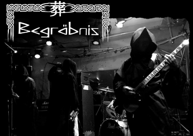 Japanese funeral doom trio Begräbnis presents their debut album, IZANAENA via Weird Truth Productions
