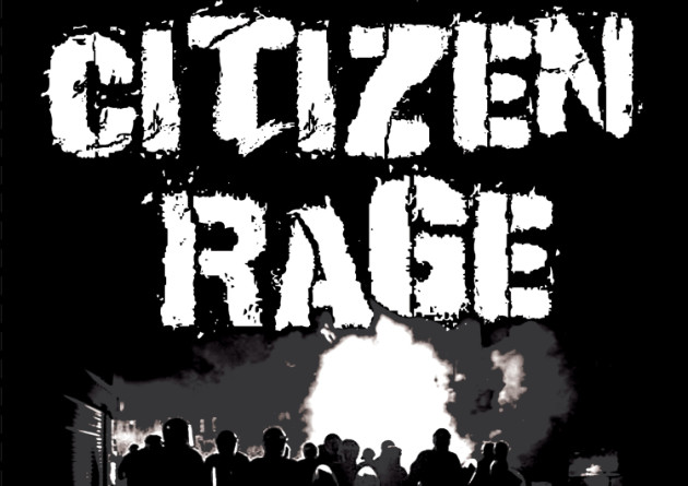 Citizen Rage (Hardcore Punk/Thrash from Calgary, CA) arrives with a new release, plainly titled Black EP