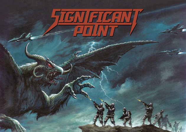 "DYING VICTIMS PRODUCTIONS is proud to present SIGNIFICANT POINT's highly anticipated debut album, ""Into the Storm"" (CD – LP)"