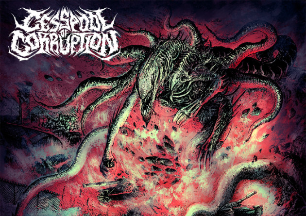 Cesspool Of Corruption – Eradication Of The Subservient – Rabid US Death Metal via Gore House Productions