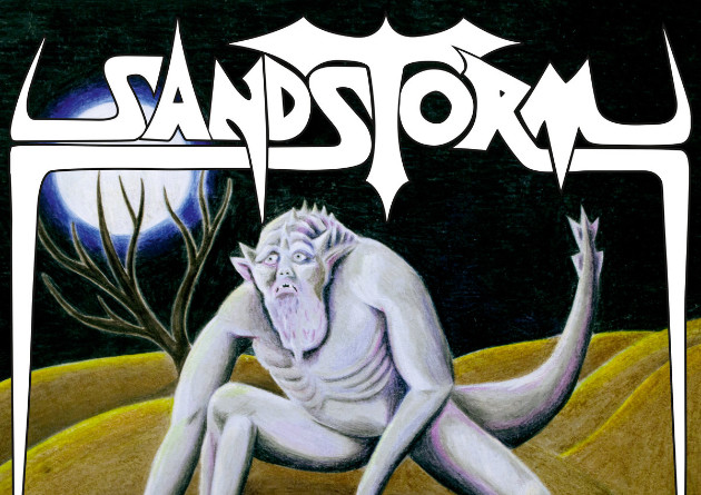 "DYING VICTIMS PRODUCTIONS is proud to present a brand-new mini-album from Canada's SANDSTORM: ""Desert Warrior"""