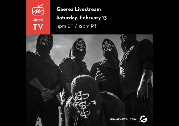 GIMME METAL TV Launches First Ever Livestream With Black Metal Outfit Gaerea February 13th