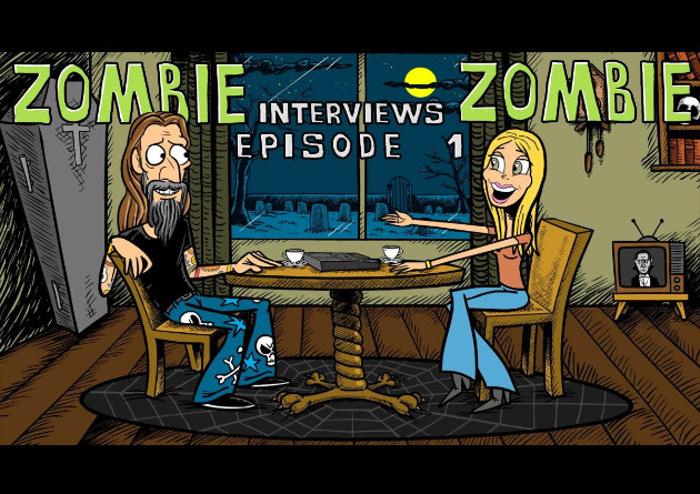 ROB ZOMBIE – pubblica la serie di video animati 'Zombie Interviews Zombie'