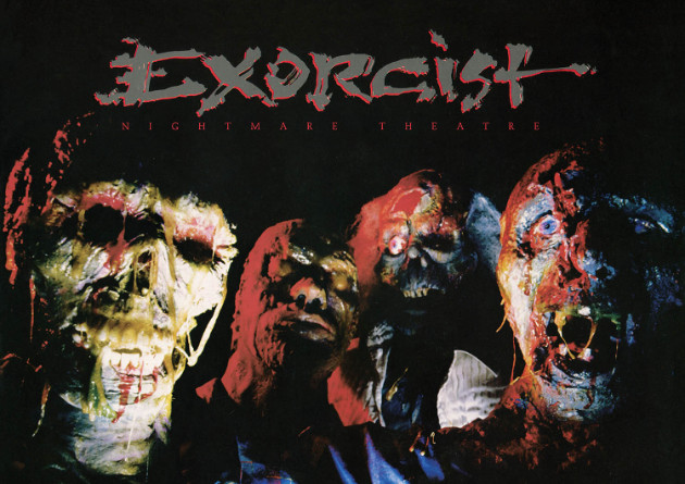 "EXORCIST: ""Nightmare Theatre"" – Re-Release via High Roller Records"
