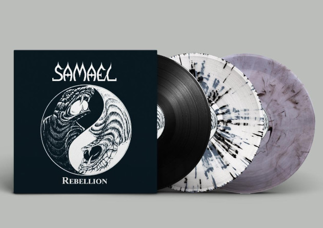 SAMAEL: Vinyl Editions Of Rebellion And Eternal To See Release Via Transcending Records