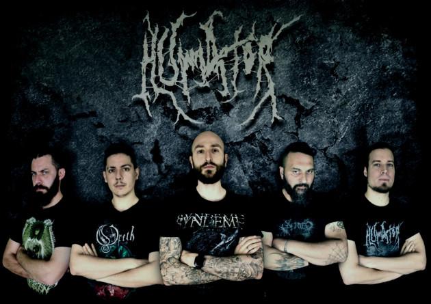 HUMATOR: i death metaller italo-tedeschi firmano per Time To Kill Records