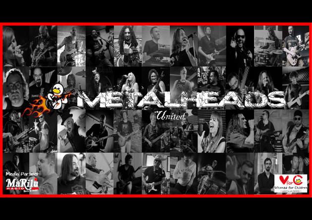 """METALHEADS UNITED: membri di WHITE SKULL, DANGER ZONE e altri suonano """"Don't Stop Believin"""" per beneficenza"""