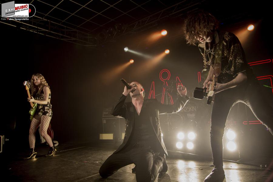 Måneskin live domenica 18 marzo 2018 - PARMA @ CAMPUS INDUSTRY MUSIC. Foto di Fabio Spagnoletto