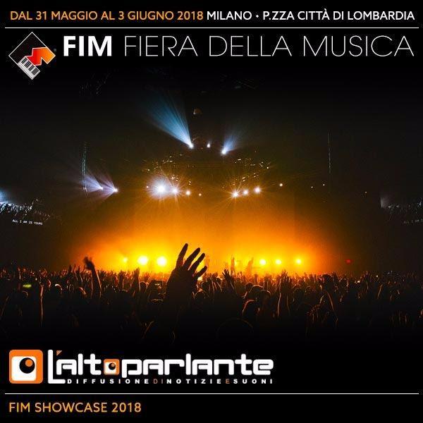 MINIFESTIVAL de L'ALTOPARLANTE al FIM - FIERA INTERNAZIONALE DELLA MUSICA a Milano venerdì 1 giugno