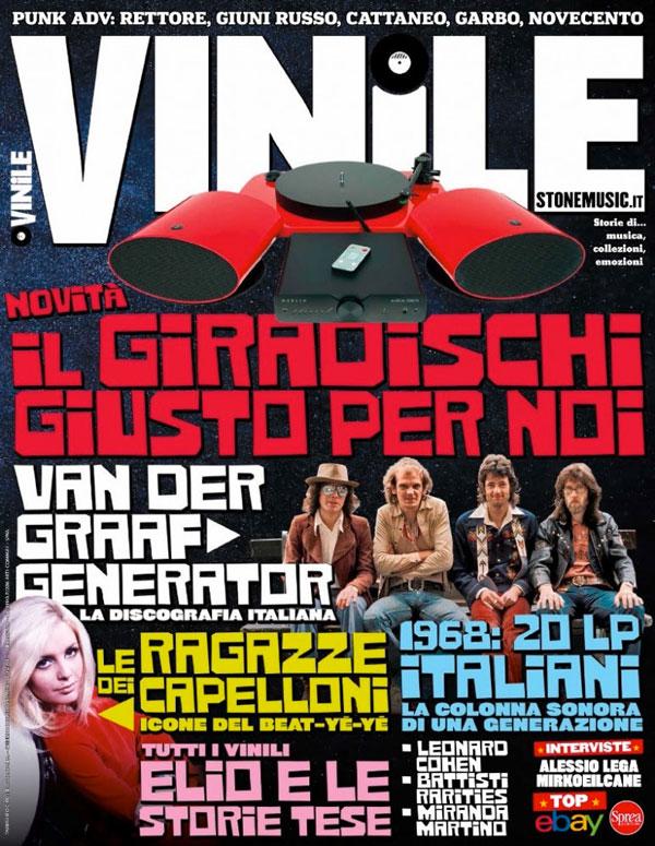 """I DISCHI DEL '68 SU """"VINILE"""", in edicola sul nuovo numero del bimestrale"""
