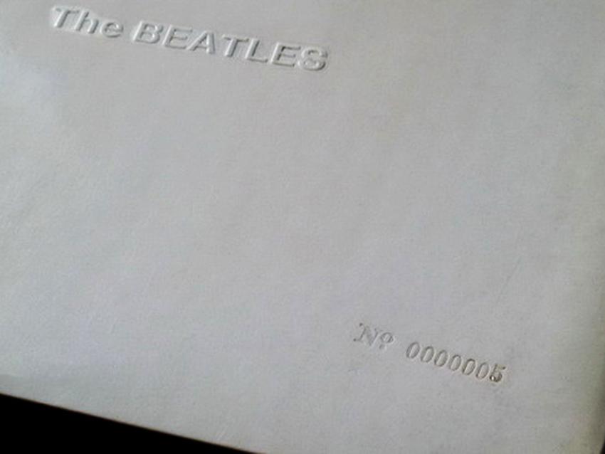 9 novembre 2018: la ristampa per i 50 anni del White album dei Beatles