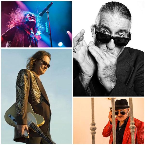 DRUSO: Tonino Carotone, Treves Blues Band, Glenn Hughes e Robben Ford danno il via alla nuova stagione di concerti