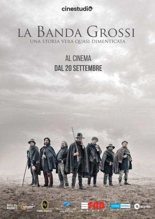 Cinestudio presenta: LA BANDA GROSSI, una storia vera quasi dimenticata. Al Cinema dal 20 Settembre