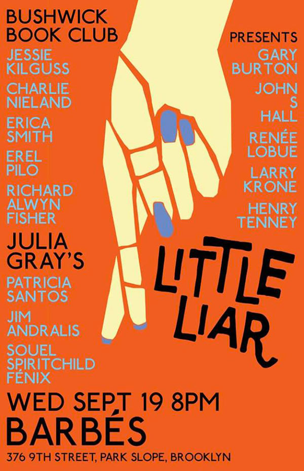 LUSTERLIT: Three-City Intl. Tour for LITTLE LIAR - New songs about books!