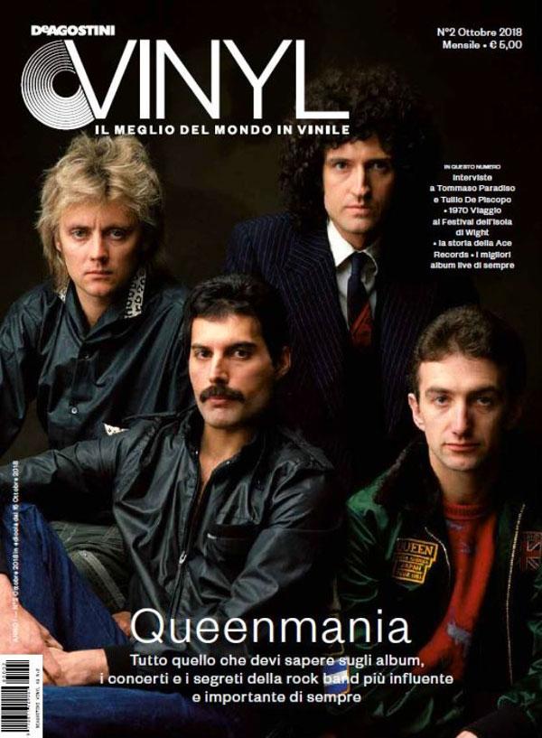 DE AGOSTINI VINYL: arriva il 15 ottobre il nuovo numero del magazine, con un'incredibile cover story dedicata ai Queen!