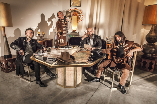 ATLAS PAIN: sabato 20 aprile a Milano il release party di 'Tales Of Pathfinder'
