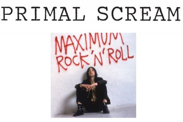 PRIMAL SCREAM - MAXIMUM ROCK 'N' ROLL: THE SINGLES dal 24 maggio