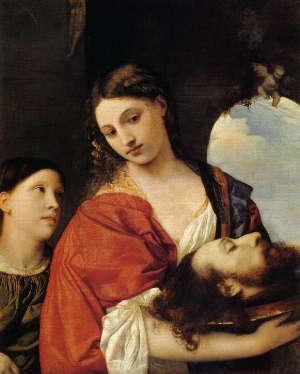 Tiziano - Salomè e la testa del Battista