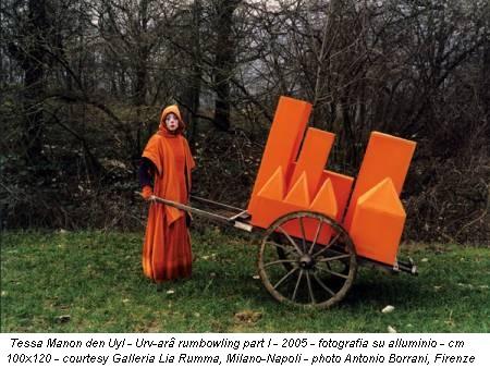 Tessa Manon den Uyl - Urv-arâ rumbowling part I - 2005 - fotografia su alluminio - cm 100x120 - courtesy Galleria Lia Rumma, Milano-Napoli - photo Antonio Borrani, Firenze