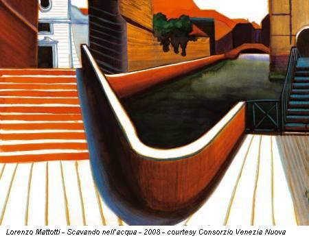 Lorenzo Mattotti - Scavando nell'acqua - 2008 - courtesy Consorzio Venezia Nuova