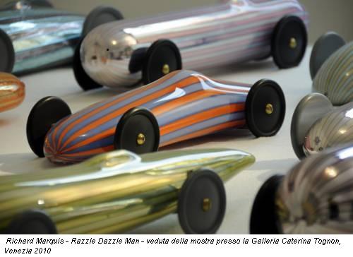 Richard Marquis - Razzle Dazzle Man - veduta della mostra presso la Galleria Caterina Tognon, Venezia 2010