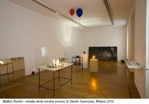 Matteo Rubbi - veduta della mostra presso lo Studio Guenzani, Milano 2010