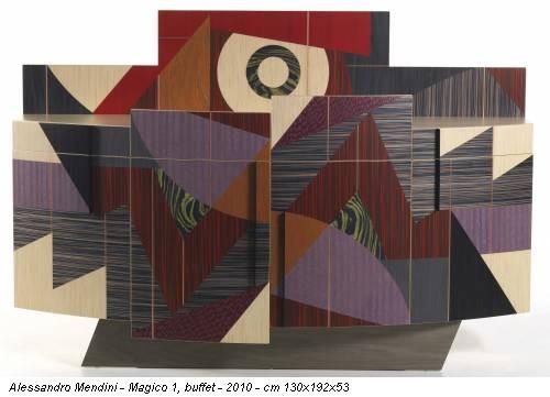 Alessandro Mendini - Magico 1, buffet - 2010 - cm 130x192x53