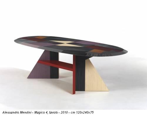 Alessandro Mendini - Magico 4, tavolo - 2010 - cm 120x240x75