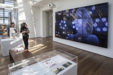 RE:Animation,2017.View of the installation at Harvard Art Museums. Courtesy: the artist