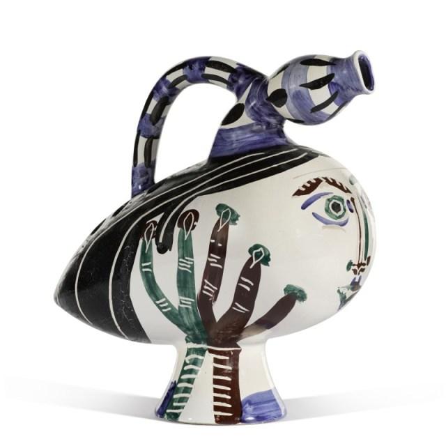 Sotheby's picasso ceramiche mercato