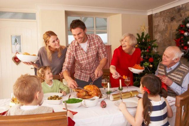 magia świąt i dawanie prezentów