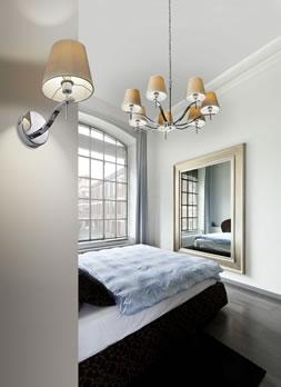 atrakcyjna sypialnia