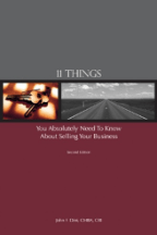 Exit Planning Books 11 Things Cover