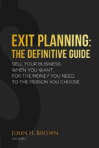 Exit Planning Books Definitive Guide Cover