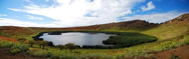 Rano Raraku Vulkan Panorama
