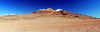 Vielfarbiger Berg (angeblich 7, also zählt mal)