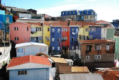 In den Gassen von Valparaiso 4