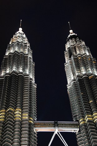Kuala Lumpur - Petronas Twin Towers at Night