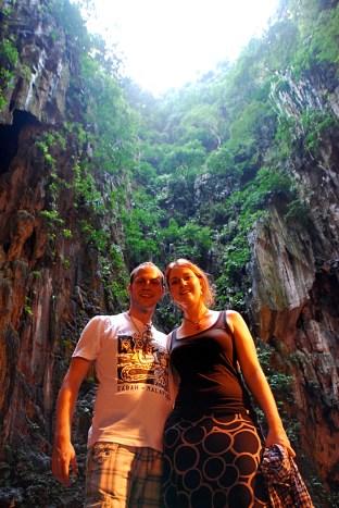 Kuala Lumpur - Inside Batu caves
