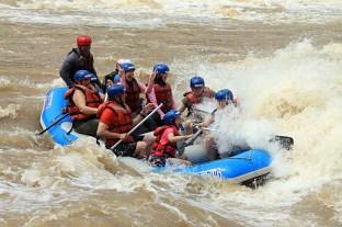 Padak River Rafting - Ruff waters