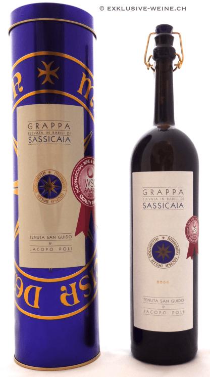 Grappa Sassicaia Jacopo Poli