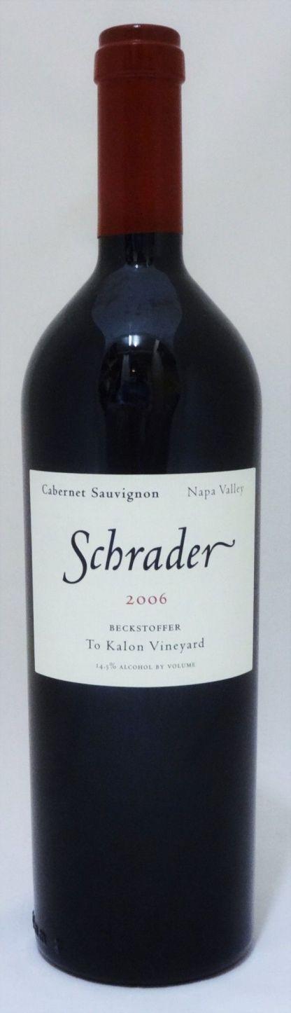 Schrader Beckstoffer To Kalon 2006