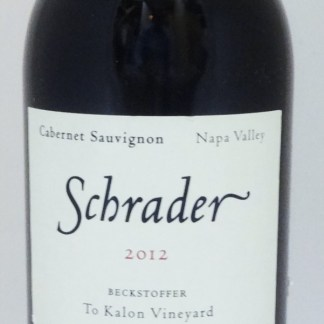 Schrader Beckstoffer To Kalon 2012