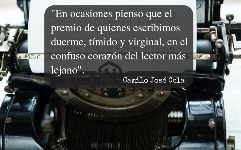 Frases Camilo José Cela